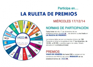 Próxima ruleta de premios 17-12-2014