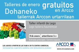 Talleres gratuitos en Arcco!!