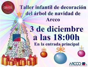 Taller decoración árbol de navidad