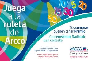 RULETA DE PREMIOS ARCCO!