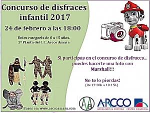 CONCURSO DE DISFRACES INFANTIL 2017